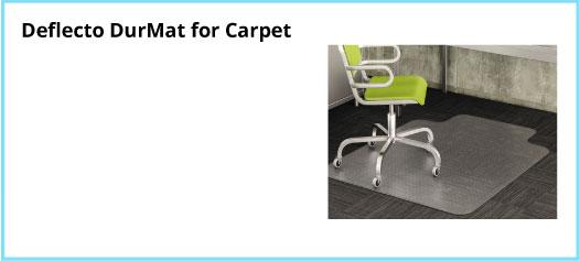 Deflecto DurMat for Carpet